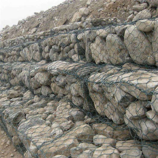 Low Carbon Iron Wire Gabion Box