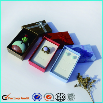 Fashionable Earrings Jewelry Packaging Box