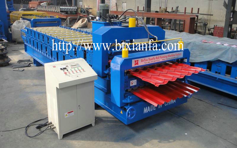 roofing tiles machine