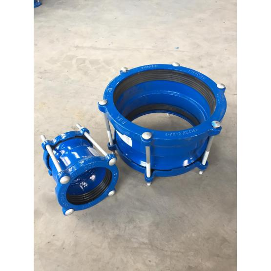 Universal ductile iron  straight coupling