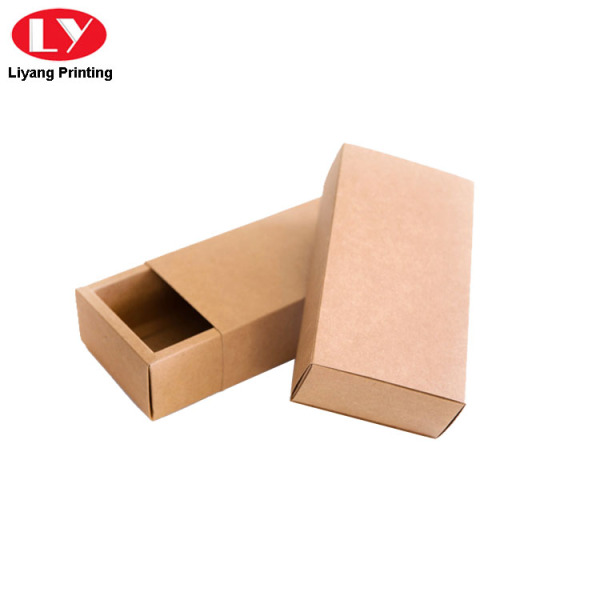 Cheap Bow Tie Kraft Box Paper Drawer Box