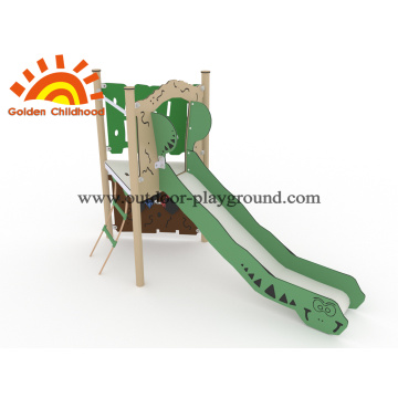HPL Playground Outdoor Equipment With Slide