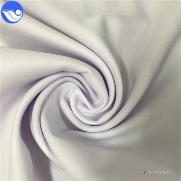 Gabardine white fabric for worker cloth protection suit