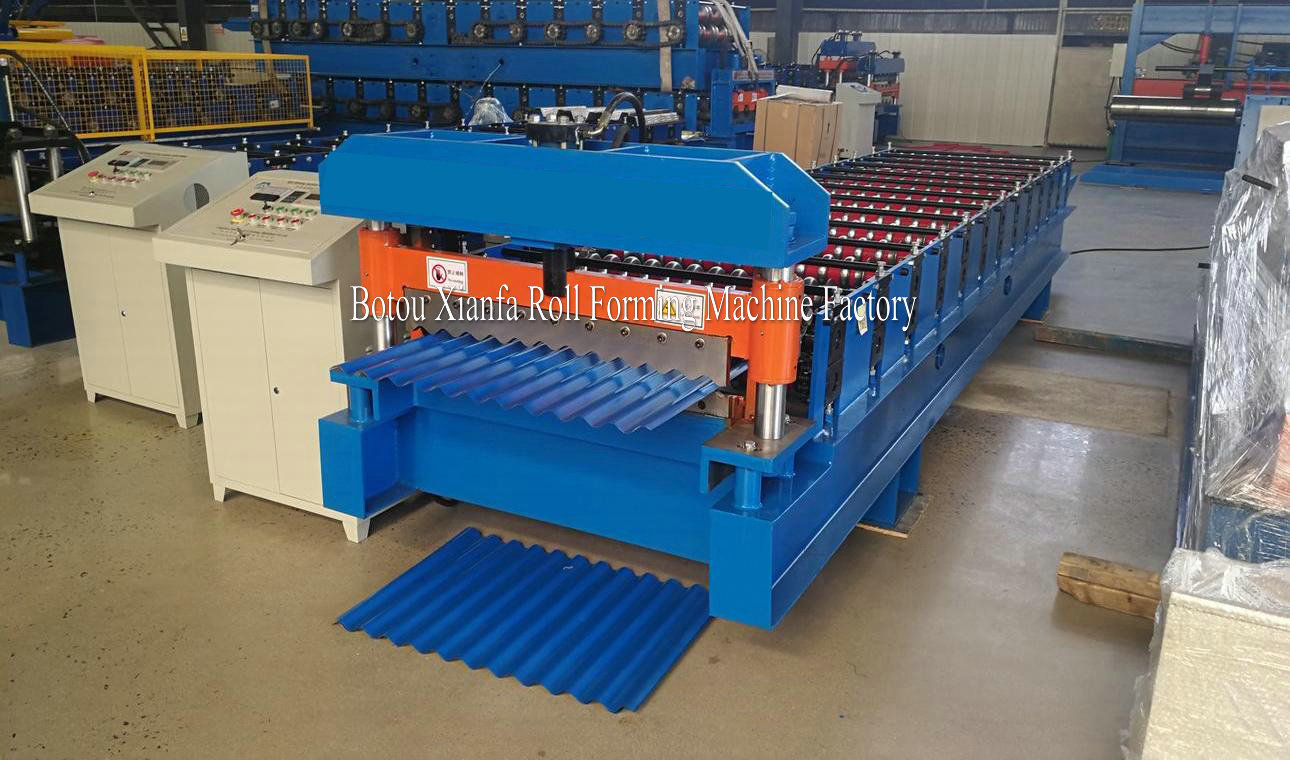 Metal Sheet Corrugated Machine
