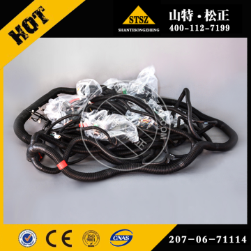 Excavator pc400-7 wiring starting harness 207-06-71141