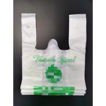 Custom Printed 100% Biodegradable Carry Bioplastic Bags