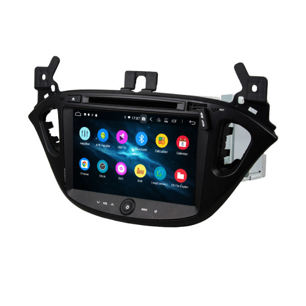 Fashion trend android 9.0 car dvd for corsa