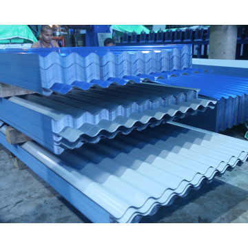 PPGI galvanized corrugated sheets CGCC FULL HARD