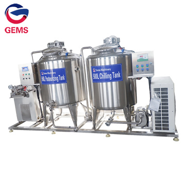 500L Milk Pasteurizing Cooling Tank for Ice Cream