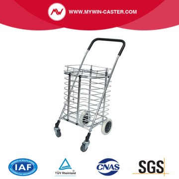 4 Wheel Folding Shopping Cart With Cover
