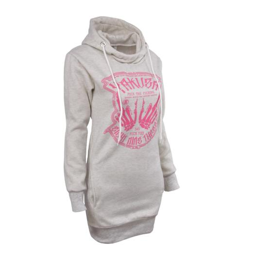 Best Selling Women Long Printed Pullover Hoodies
