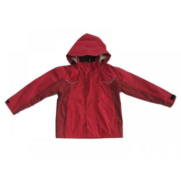 red outdoor windproof softshell jacket