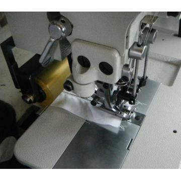 Double Needle Hemstitch Picoting Sewing Machine with Puller