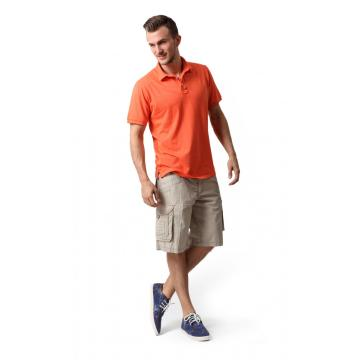 MEN'S COTTON CARGO PEACHED SHORTS