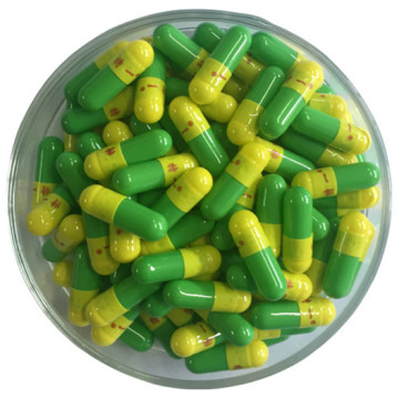 Custom Color Natural Empty Hard Gelatin Capsule