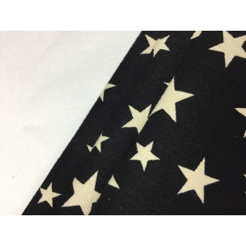 Cotton Spandex Twill Brushed Print Fabric
