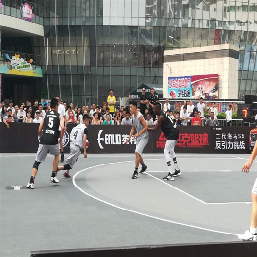 High Performance Outdoor PP Suspended Basketball Court Tile