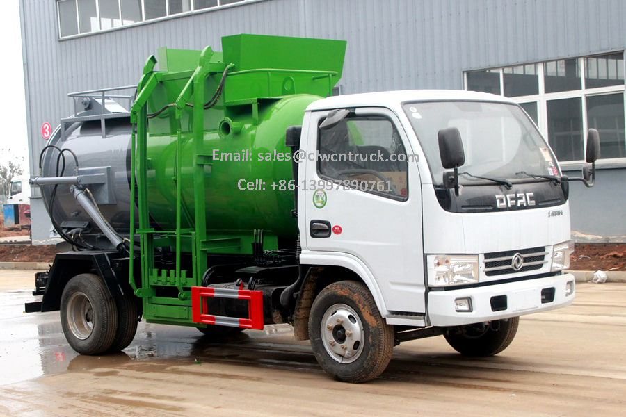 Liquid Waste Truck Factory