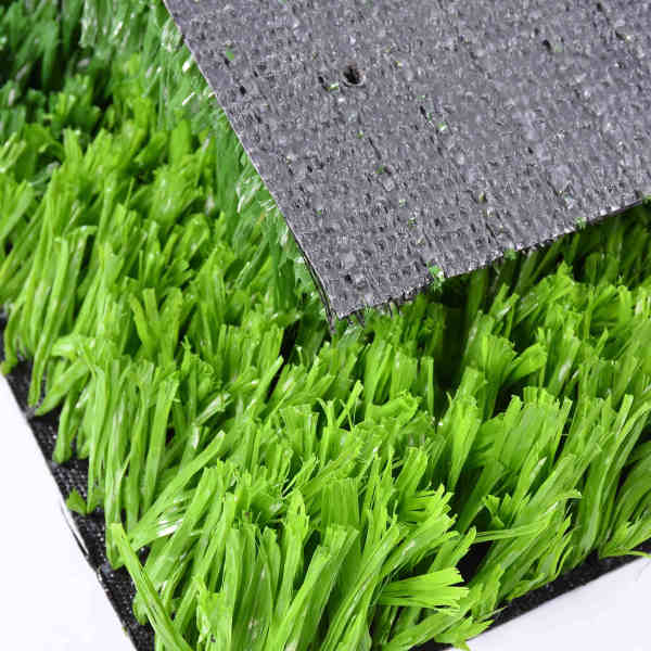Synthetic turf sports flooring for paddle tennis
