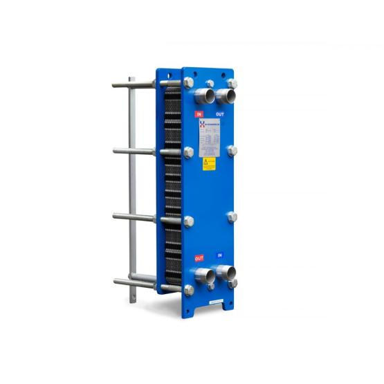 Liquid cold plate heat exchanger