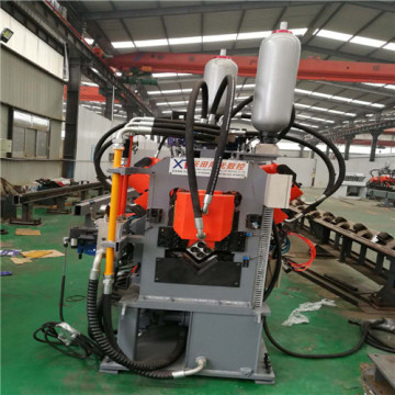 CNC Angle Machine Line (Punching Marking and Cutting)