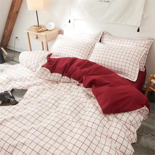 duvet sheet set with patterns