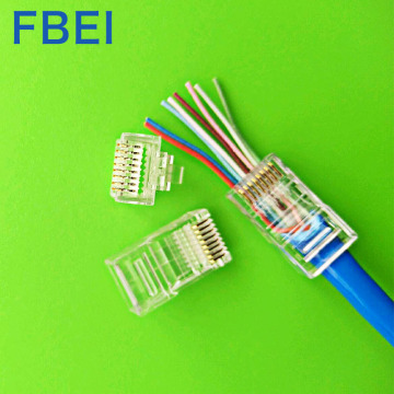 RJ45 EZ CAT5e connector