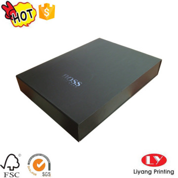 T-shirt black packaging gift folding box