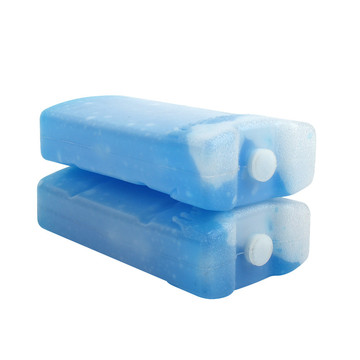 Portable Blue Gel Ice Packs Cooler Container