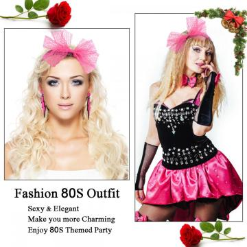 80s Outfit - Womens 80s Party Accessories Set