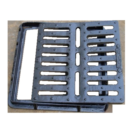 Square Sewage Perforated Strainer With Frame