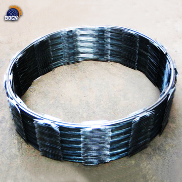 electro hot dip galvanized razor barbed concertina wire