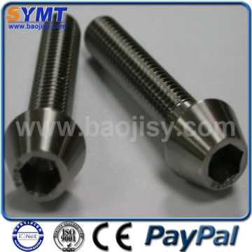 Gr5 DIN912 Titanium Alloy Screw