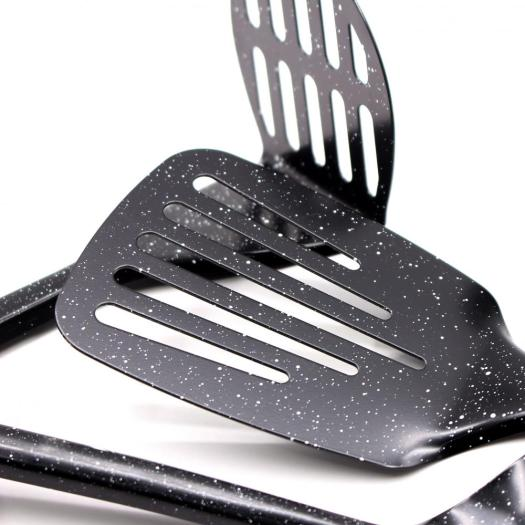 stainless steel kitchen utensils with coating