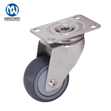 3 Inch Swivel Furniture TPR Caster Wheel
