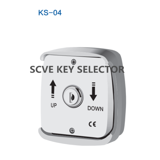 Roller Shutter Key Switch KS-01 to KS-04