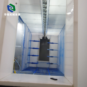 Latest Customized Efficient Automatic Powder Spray Booth