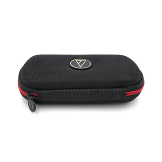 Top quality durable custom nylon earphone case with pockets