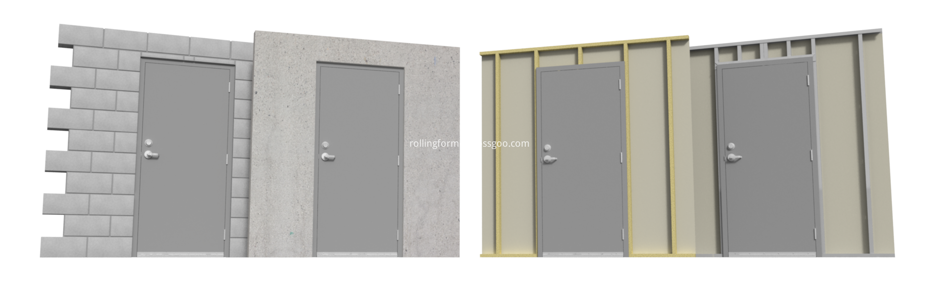 Commercial Hurricane Doors 3