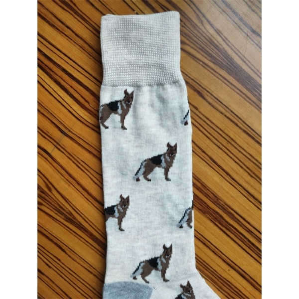 cute socks with wolf for men and ladies