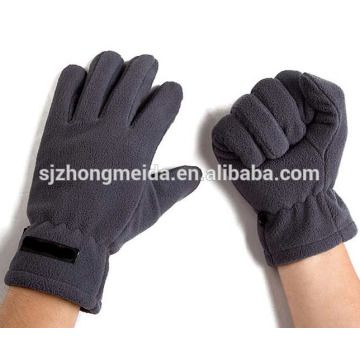 custom unisex high quality red fleece gloves