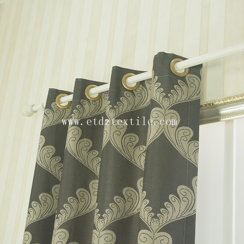 2016 Trend window curtain QZ1538