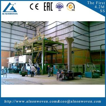 Best automatic AL-1600 SS 1600mm non woven fabrics making machinery with great price