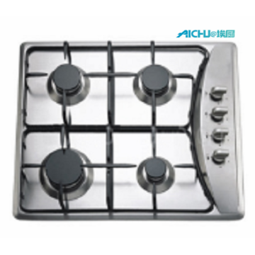 201 Level S.S Brushed Hob With 4 Burners