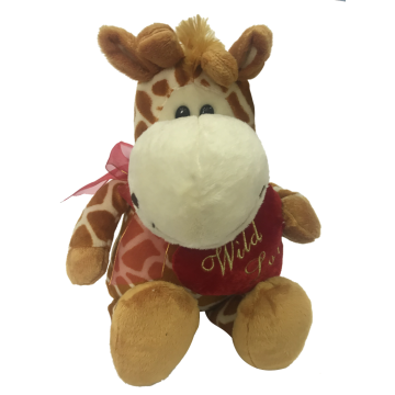 Plush Giraffe For Valentine
