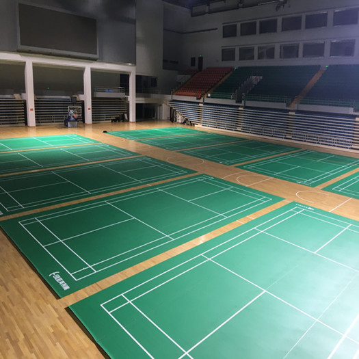 BWF Aproved ENLIO PVC Badminton Floor