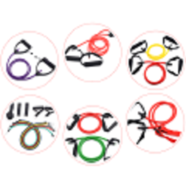 3mm Inner Size Underwater Fishing Rubber Band