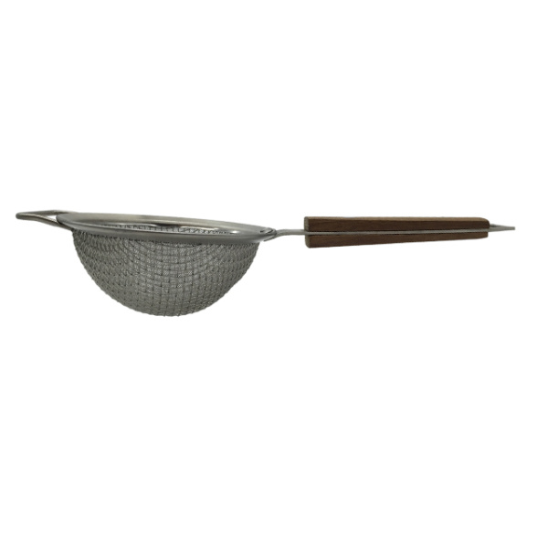 Stainless Steel Filter Ladle with Wooden Handle