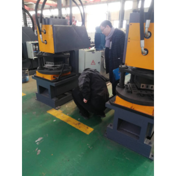 Sunshine Simple Hydraulic Angle Iron Cutting machine