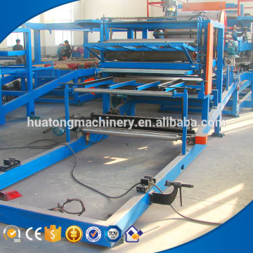 EPS roof and wall sandwich panel press machine